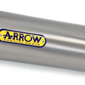 PIAGGIO - Silencioso Arrow Race-Tech de aluminio fondo Dark -