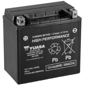 YUASA - Batería Yuasa YTX14H-BS High Performance -