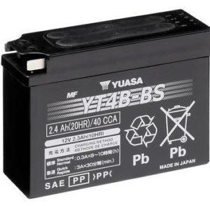 YUASA - Batería Yuasa YT4B-BS Sin Mantenimiento -
