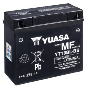 YUASA - Batería Yuasa YT19BL-BS Sin Mantenimiento -