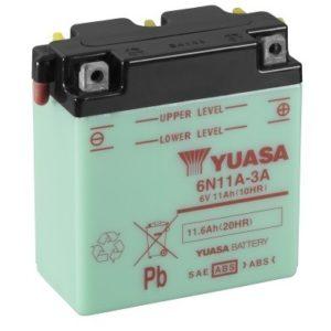 YUASA - Batería Yuasa 6N11A-3A Combipack -