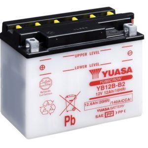 YUASA - Batería Yuasa YB12B-B2 -