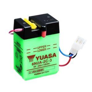 YUASA - Batería Yuasa 6N2A-2C-3 -