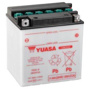 YUASA - Batería Yuasa YB30L-B -