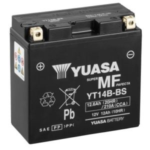 YUASA - Batería Yuasa YT14B-BS Sin Mantenimiento -