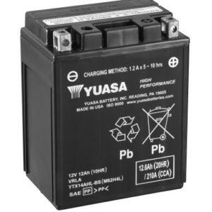 YUASA - Batería Yuasa YTX14AHL-BS High Performance -