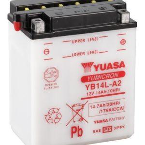 YUASA - Batería Yuasa YB14L-A2 Combipack -