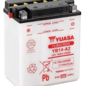 YUASA - Batería Yuasa YB14-A2 Combipack -