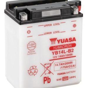 YUASA - Batería Yuasa YB14L-B2 Combipack -