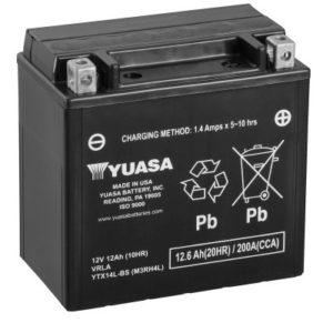YUASA - Batería Yuasa YTX14L-BS Sin Mantenimiento -