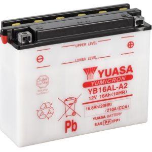 YUASA - Batería Yuasa YB16AL-A2 Combipack -