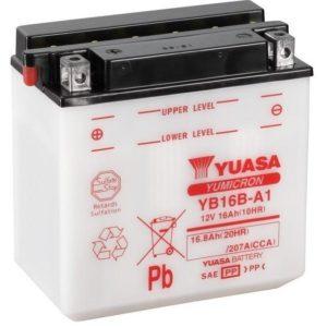 YUASA - Batería Yuasa YB16B-A1 Combipack -
