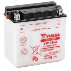 YUASA - Batería Yuasa YB16B-A -