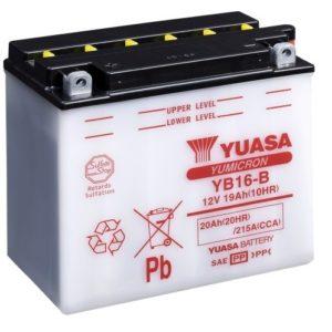 YUASA - Batería Yuasa YB16-B -