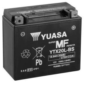 YUASA - Batería Yuasa YTX20L-BS Sin Mantenimiento -