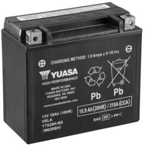 YUASA - Batería Yuasa YTX20H-BS High Performance -