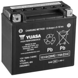 YUASA - Batería Yuasa YTX20HL-BS High Performance -