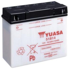 YUASA - Batería Yuasa 51814 Combipack -
