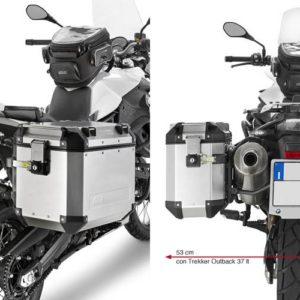 PORTAMALETAS - PORTAMALETAS GIVI LATERAL CAMSIDE 18 BMW F GS 650 700 800 08-13 -