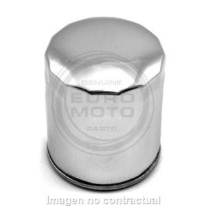 Filtro Aceite Meiwa (MIW) - Filtro aceite Meiwa Buell - Harley Davidson (cromado) -