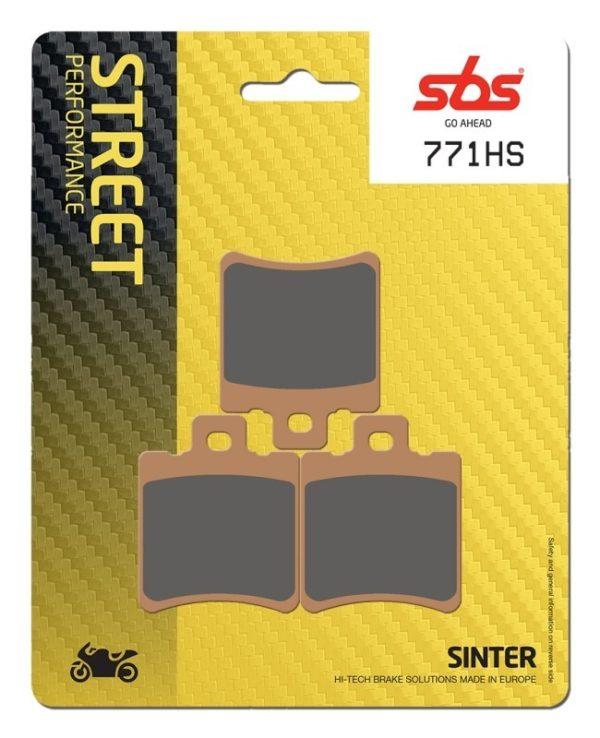 PASTILLAS DE FRENO SBS - Pastilla SBS Pinza Beringer 6 pistones -