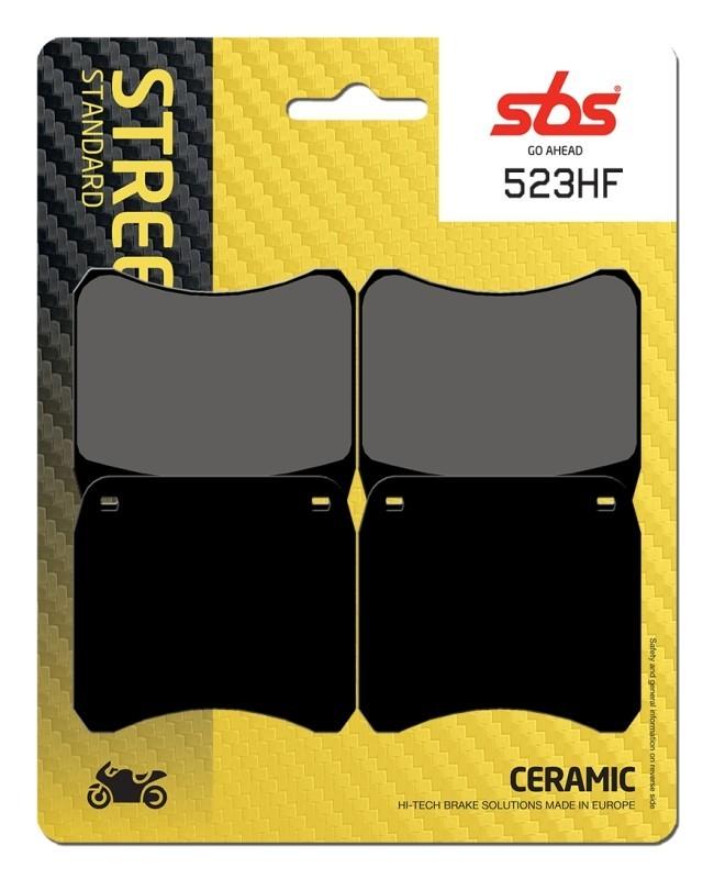 PASTILLAS DE FRENO SBS - Pastilla de freno SBS P523-HF -