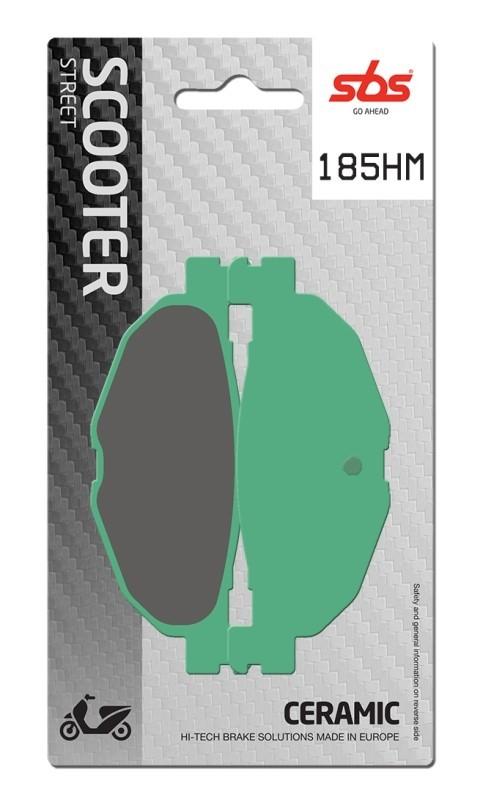 PASTILLAS DE FRENO SBS - Pastilla de freno SBS P185-HM -