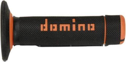 DOMINO - Puños Domino Off Road Negro - Naranja -