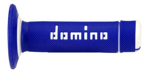 DOMINO - Puños Domino Off Road Azul - Blanco -