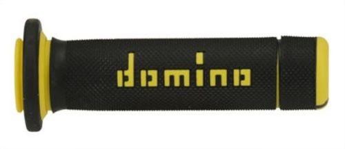 DOMINO - Puños Domino ATV Negro - Amarillo -