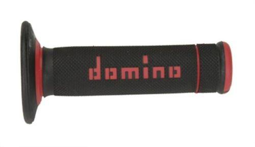 DOMINO - Puños Domino Off Road X-Treme Negro - Rojo -