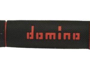 DOMINO - Puños Domino Trial Negro - Rojo -