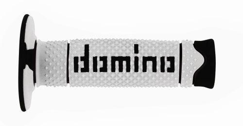 DOMINO - Puños Domino DSH Off Road Blanco - Negro -