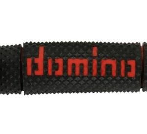 DOMINO - Puños Domino DSH Off Road Negro - Rojo -