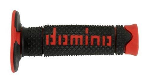 DOMINO - Puños Domino DSH Off Road Negro - Rojo -