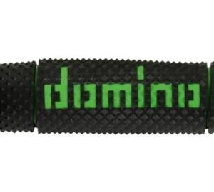 DOMINO - Puños Domino DSH Off Road Negro - Verde -