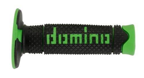 DOMINO - Puños Domino DSH Off Road Negro - Verde -