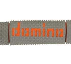 DOMINO - Puños Domino DSH Off Road Gris - Naranja -