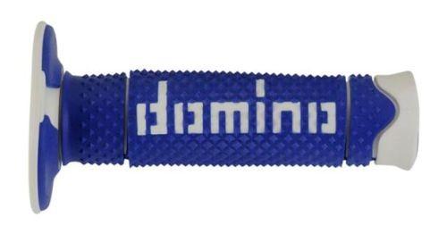 DOMINO - Puños Domino DSH Off Road Azul - Blanco -