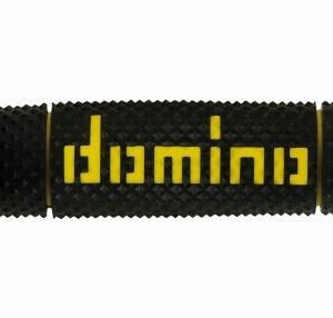 DOMINO - Puños Domino DSH Off Road Negro - Amarillo -