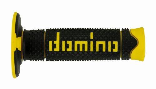 DOMINO - Puños Domino DSH Off Road Negro - Amarillo -