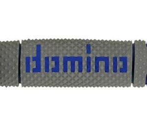 DOMINO - Puños Domino DSH Off Road Gris - Azul -