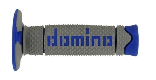 DOMINO - Puños Domino DSH Off Road Gris - Azul -