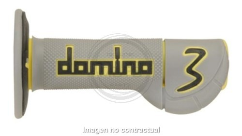 DOMINO - Puños Domino Experience 3 - Negro-Gris-Amarillo -