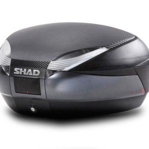 MALETAS SHAD - BAÚL SHAD SH48 NEGRO/GRIS OSCURO -