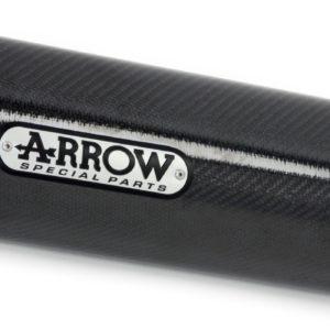 PIAGGIO - Silencioso Arrow Race-Tech de aluminio Dark fondo Dark -