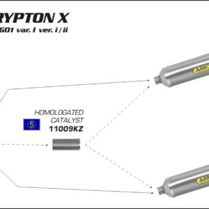 ESCAPES ARROW - Sistema de catalizadores Arrows Arrow -