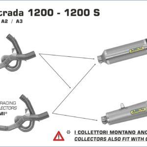 ESCAPES ARROW DUCATI - Silencioso Arrow Works Approved en titanio fondo en carbono -
