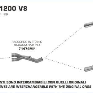 ESCAPES ARROW - Conector Arrow de titanio -