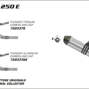 ESCAPES ARROW - Silencioso Arrow Off-Road V2 -